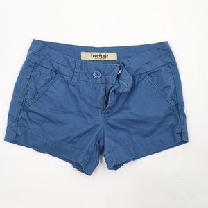 Freestyle blue pocketed shorts 5